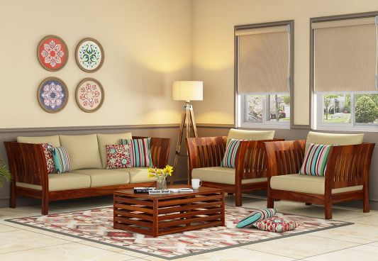 Give Your Living Room The Most Exotic Vibe With Wooden Sofa Design Furniture Designs